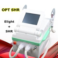 Wholesale light therapy for face online - Opt shr hair removal IPL face lifting machines E Light acne treatment therapy pigmentation wrinkle removal beauty machine for salons