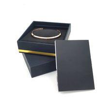 edelstahl armband armband gesetzt großhandel-Neue DW Armbänder Manschette mit Original Box Rose Gold Silber Armreif Alle Edelstahl Armband Frauen und Herren Armband Schmuck-Set
