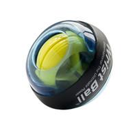 bilardo bilgisayarı toptan satış-YENI Aydınlık Bilek Top Jiroskop Roller Force Ball Gyro Güç Bilek Topu Kol Egzersiz Güçlendirici Bilgisayar için Typist Piyanist