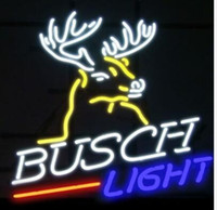 ingrosso segno al neon di birra chiara di busch-Custom New Busch Light Glass Neon Sign Light Beer Bar Sign Send need photo 19x15""