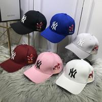 e388c762631a2a Wholesale designer hats online - 2018 Summer New brand mens designer hats  adjustable baseball caps luxury Find Similar