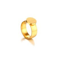 Wholesale gold jewellery ring man online - Hot Sale Stainless Steel Ring for Men Jewellery Cool Charm Designer Jewelry Gold Rings Size