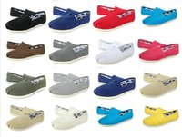 Wholesale d squared shoes for sale - HOT Casual Shoes Women Men Classics TOM MRS Loafers Canvas Slip On Flats shoes Lazy shoes size