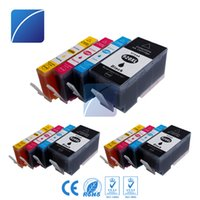 Wholesale wholesale hp cartridges - ZH 12 PCS Ink Cartridges 920XL Compatible For HP920 6000 6000wireless 6500 6500wireless 6500a e-All In One Printer