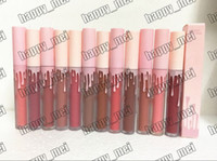 Wholesale pink lips for sale - ePacket New Makeup Lips Pink Box Creme Liquid Lipstick Different Colors