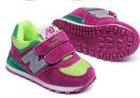 chaussures pour garçons livraison gratuite achat en gros de-Vente chaude Marque Enfants Casual Sport Chaussures Garçons Et Filles Sneakers Enfants Chaussures De Course EUR taille 20-30, livraison gratuite