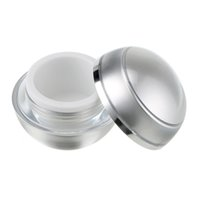 многоразовые банки оптовых-5 PCS 5g Refillable Bottles Plastic Empty Makeup Jar Pot Travel Face Cream/Lotion/Cosmetic Container For NAIL ART Makeup
