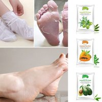 New ALIVER Avocado Papaya Olive Oil Exfoliating Foot Mask Remove Dead Skin Smooth For Feet Skin Care hot