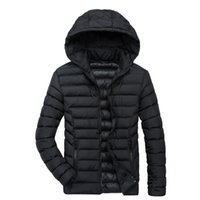 Overcoat Thicken Hooded Coat Warm Clothes Down 2018 Xl Mens Winter Outwear Xxl Parkas Jackets Xxxl Male Xxxxl 4jARL5