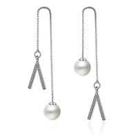 titanyum ayı takı toptan satış-EH233 Trendy Kadınlar Takı Kalsedon ametist tiny boncuk titanyum çelik ayılar küpe doğal taş renkli kadın Gümüş Kaplama küpe