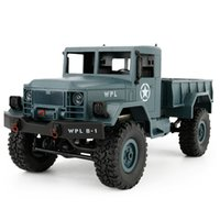Wholesale Driving Wheel - 1:16 DIY Military Four-wheel Drive Off-road Remote Control Climbing Car Model For WPL B-1 Description 100% brand new and of high quality