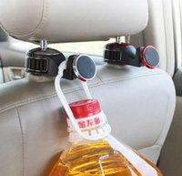 suporte para tablet para carro venda por atacado-Titular Do Telefone Do Carro Magnético Universal Auto Car Back Seat Gancho stand Car Rear Headrest Bracket para Tablet para telefone GGA713 30 PCS