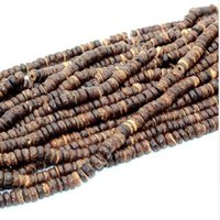 Wholesale circle shell beads for jewelry for sale - Group buy mm Coconut Shell Beads Wood Round Column Spacer Bead Beads for Jewelry Making Bracelets for Women