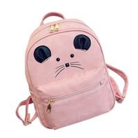 Wholesale mouse backpack for sale - Group buy 2018 Maison Fabre Women Girl Two Piece Bag Mouse Fashion Messenger Bags Shoulder Bag Satchels Versatile
