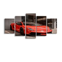 Wholesale world figure painting resale online - Painting calligraphy World famous car canvas poster art painting living room restaurant Bedroom Decorative paintings C5