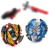 Wholesale metal fury beyblades for sale - Mini Spinning Top Spinning Top Metal Fury Beyblades Launchers Box Set Top Battle Toys For Children