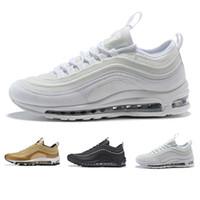 quality design 1d51b 7c9f5 Nike Air Max 97 designer shoes Meilleures ventes classique 2017 en plein air  Chaussures de marche Hommes Haute Qualité Pas Cher Mode Casual Chaussures  ...
