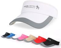 Wholesale black riding hat - Sample style Summer quick-drying sun hat outdoorsports hats riding hood sun visor sun visor outdoor anti-ultraviolet visor hat Extended brim