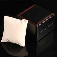Wholesale Delicate Watches - Delicate watch gift box upscale PU leather flexible flip gift simple atmosphere jewelry watch packaging box