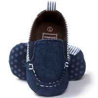 детская обувь из натуральной кожи оптовых-baby boys shoes first walkers Baby Toddler Soft Sole Leather Shoes Infant Boy Girl Toddler uk m8