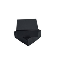 Wholesale diy jewelry cards for sale - 6 cm x2 x0 Black Kraft Paper Gift Card Packaging Box DIY Jewelry Packing Boxes Chocolate Craft Paper Box