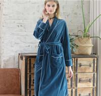 ingrosso vestito trading-Yao Ting pleuche vestaglia commercio esplosione caldo pigiama moda abito multicolore Arredamento Per La Casa