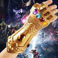 Wholesale Halloween Gold Costume - movie Avenger League 3 unlimited war destroy infinite GLOVES HALLOWEEN cos props model toys RF1348