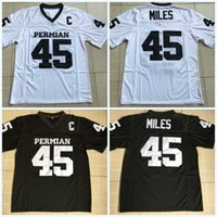 Stitched  45 Boobie Miles Friday Night Lights American Football Jerseys Mens  The film Dillon Panthers Football White Black Movie Jersey 367148767