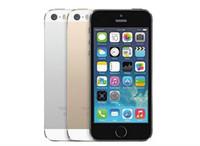 "android cep telefonu 8mp kamera toptan satış-Yenilenmiş Unlocked Apple iPhone 5 S parmak izi OLMADAN iOS A7 4.0 ""8MP IPS HD GPS 16 GB ROM çift çekirdekli Telefonlar"