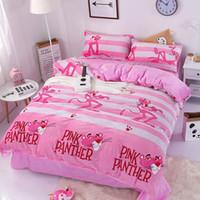 Wholesale elegant floral bedding sets resale online - Riho Piece Cotton Bedding Rural Floral Rose Elegant Comfortable Bedding Sets Bedding Sheets Bed Comforter Pink