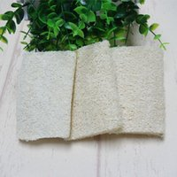 Wholesale luffa loofa bath body shower for sale - Group buy 4inch Natural Loofah Luffa Loofa Bath shower Sponge