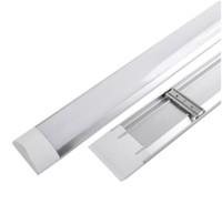 Wholesale light fluorescent ceiling fixture online - LED tri proof Light Batten T8 Tube FT FT FT FT Explosion Proof Two LED Tube Lights Replace Fluorescent Light Fixture Ceiling Grille Lamp