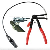 Wholesale motorcycle car oil resale online - Flexible Wire Long Reach Hose Clamp Plier Car Fuel Oil Water Pipe Repairing Tool For Motorcycle Truck Car Water Piper