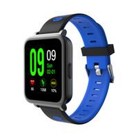 Wholesale Music Buckles - Luxury high quality Smart Watch MTK Sync Notifier Bluetooth Music Smart watches Pedometer Heart Rate Sleep Monitor modern wristwatch
