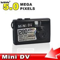горячие видео веб-камера оптовых-kebidu 2018 HOT 5MP HD Micro Smallest Portable camera Mini DV Digital Camera Video Recorder Camcorder Webcam DVR Recorder 720P