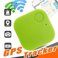 gps sesleri toptan satış-Mini Kablosuz Bluetooth 4.0 GPS Izci Anti-kayıp Izci Alarm iTag Anahtar Bulucu ios Android Smartphone Için Ses Kayıt Akıllı Bulucu