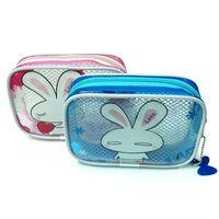 kits de viagem jóias venda por atacado-Alta Qualidade Lady MakeUp Bolsa Cosmetic Make Up Bag Embreagem Pendurado Produtos de Higiene Pessoal Kit de Viagem Organizador de Jóias Bolsa Ocasional