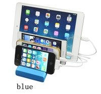 Wholesale smartphone docking for sale – best Portable Desktop Ports USB Hub Dock Chargers Charger Base Travel Smartphone Device USB Charging Station Charger Docking