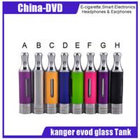 Wholesale kanger tank ego - Authentic Kanger Evod Glass BDC Atomizer 1.5ml eGo Thread Bottom Dual Coil VS Kanger T3S T3D Tank Protank 2 EVOD 2 E-Cigarettes atomizer