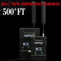 receptor de transmissor de vídeo hd venda por atacado-VAXIS STORM 500 + FT 150 M Profissional Sistema de Transmissão de Vídeo Sem Fio WHDI HDMI SDI Transmissão HD Video Transmitter Receiver