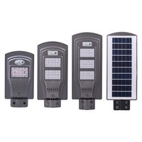 Wholesale lighting photocell sensor for sale - Group buy Solar LED Street Lights W W W Radar Sensor Photocell Sensor Led Steet Lights Waterproof Outdoor Led Lamps AC V