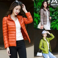 Wholesale korean style casual clothing for sale - New Style White Duck Down Ultralight Down Coat Korean Version Winter Jacket Women Color Size S XL Woman Designer Clothes