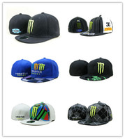 Wholesale team cowboys resale online - Hot New Good Quality Cheap Reds F1 dc Fitted Caps Baseball Cap Embroidered Team C Letter Size Flat Brim Hat bone Snapback Baseball Caps Size