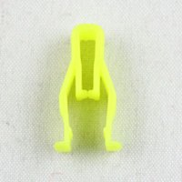 Wholesale clip fastener types - Auto Instrument Panel U-type clip Retainers yellow trim Dashboard snaps fastener for Hyundai Chery BYD