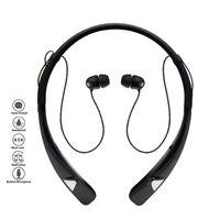 casque bluetooth achat en gros de-Écouteurs stéréo Bluetooth sans fil HV-980 4.1 Écouteurs intra-auriculaires Écouteurs avec dragonne flexible avec emballage pour la vente au détail