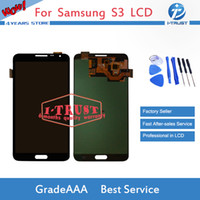 Wholesale Replace Lcd Screen - TFT LCD For Samsung Galaxy S3 i9300 i9308 i9300 i9305 i939 i747 i535 LCD Screen Digitizer Replace with free repaires tools and free Shipping