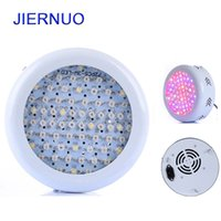 Wholesale 216w led - 216W UFO LED Grow Light 72x3W Full Spectrum AC85~265V Hydroponics Plant Lamp Ideal All Phases of Plant Growth and Flowering BJ