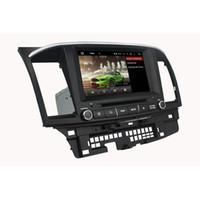 lecteur vidéo de voiture mitsubishi achat en gros de-8 pouces 2 Go Andriod 6.0 Lecteur DVD de voiture pour MITSUBISHI Lancer 2014-2015 avec GPS, Bluetooth