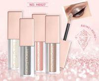 beauty gifts for girls 2018 - 16 colors Hengfang Metal Liquid Eyeshadow Glitter Eye Shadow Liquid Shimmer Stick Beauty Tool Korea Cosmetic Gift For Girl free shipping