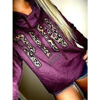 Hot selling 2018 Winter Women Pink Love Pullover Casual Hoodies Sweatshirts Tops Clothing Sweatshirt with Printing Long-Sleeved Womens Clothes